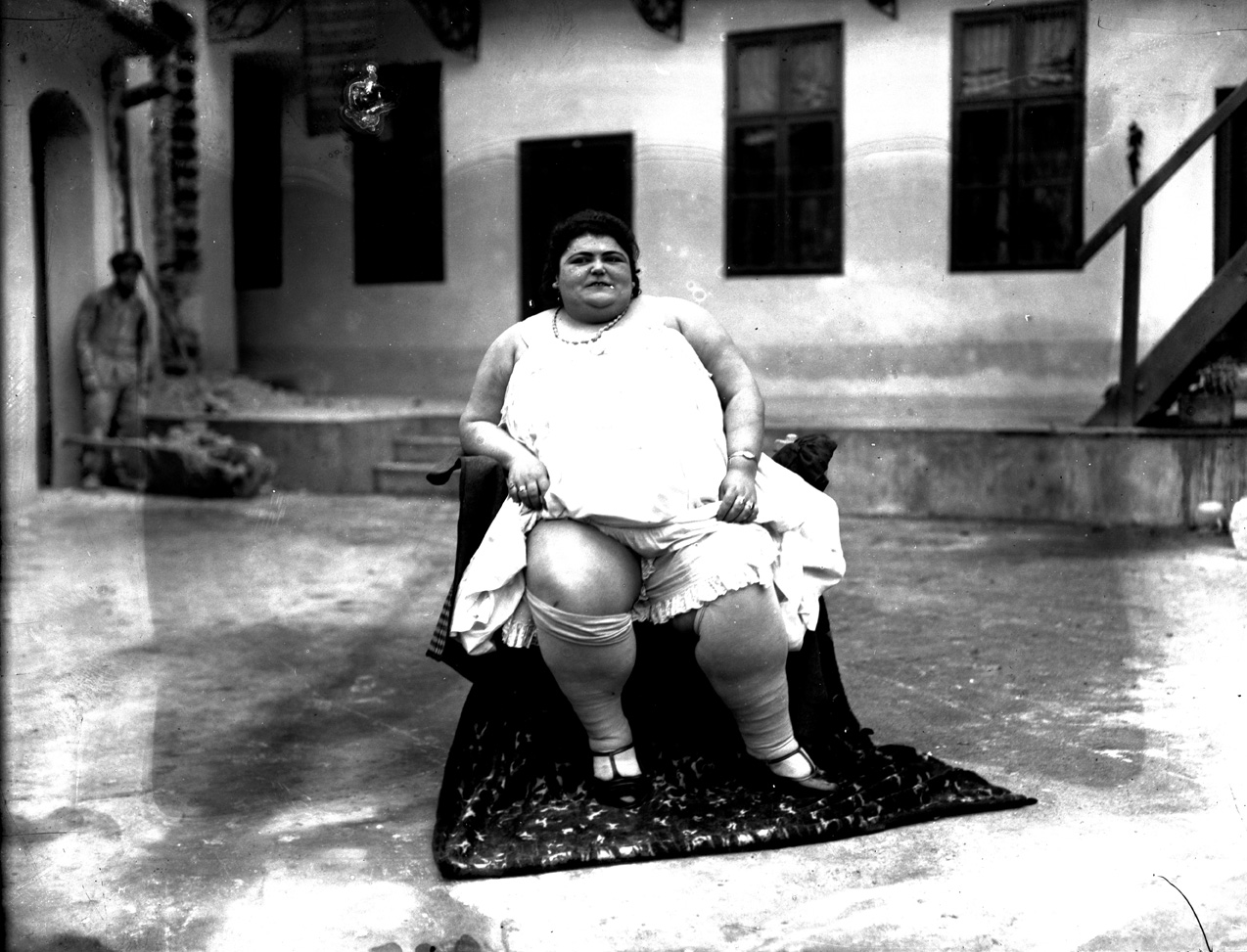 'Fat Rozika', sitting, © Photoarchive Borba