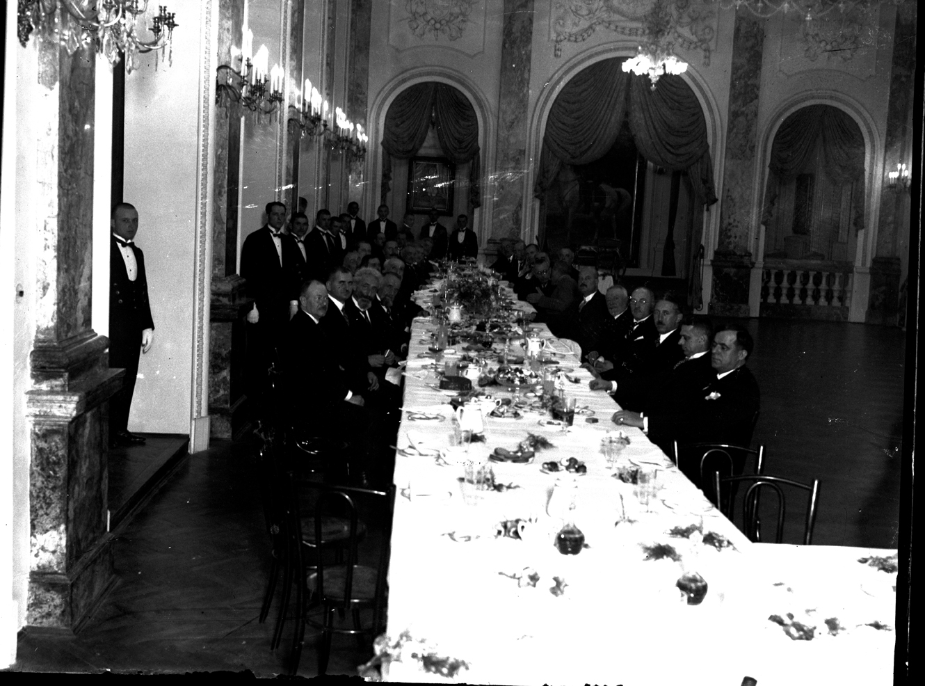 Dinner reception at the House of the Guard, © Photoarchive Borba