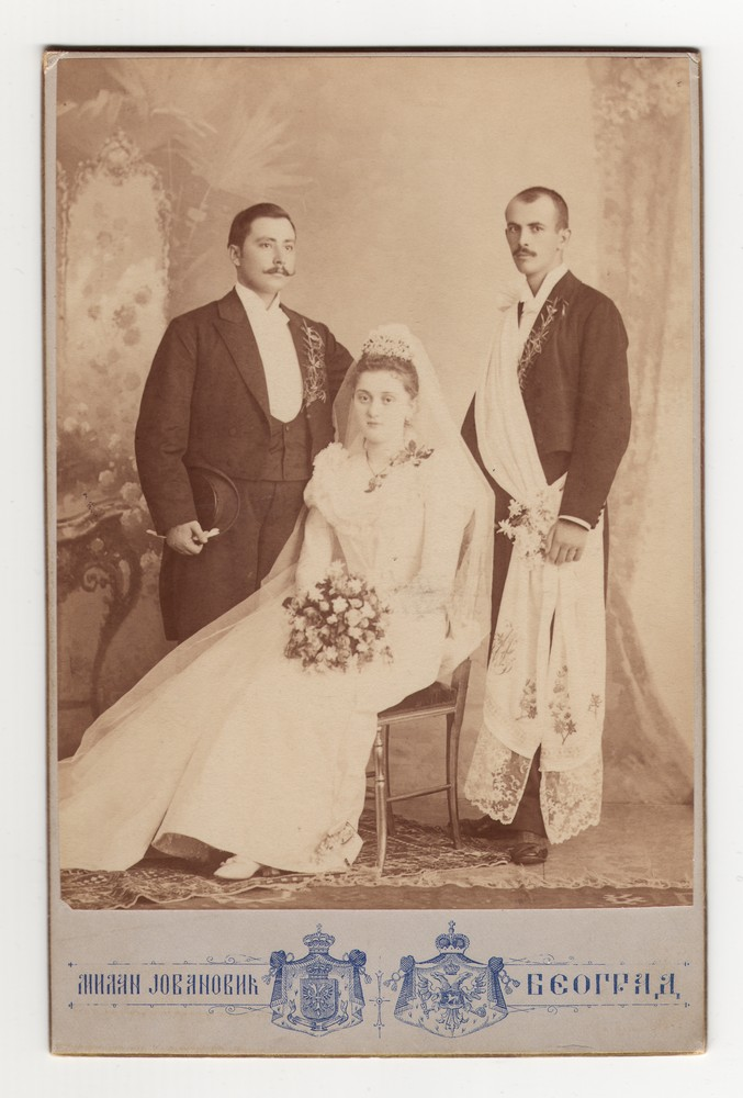 Wedding photograph, © Museum of Applied Art