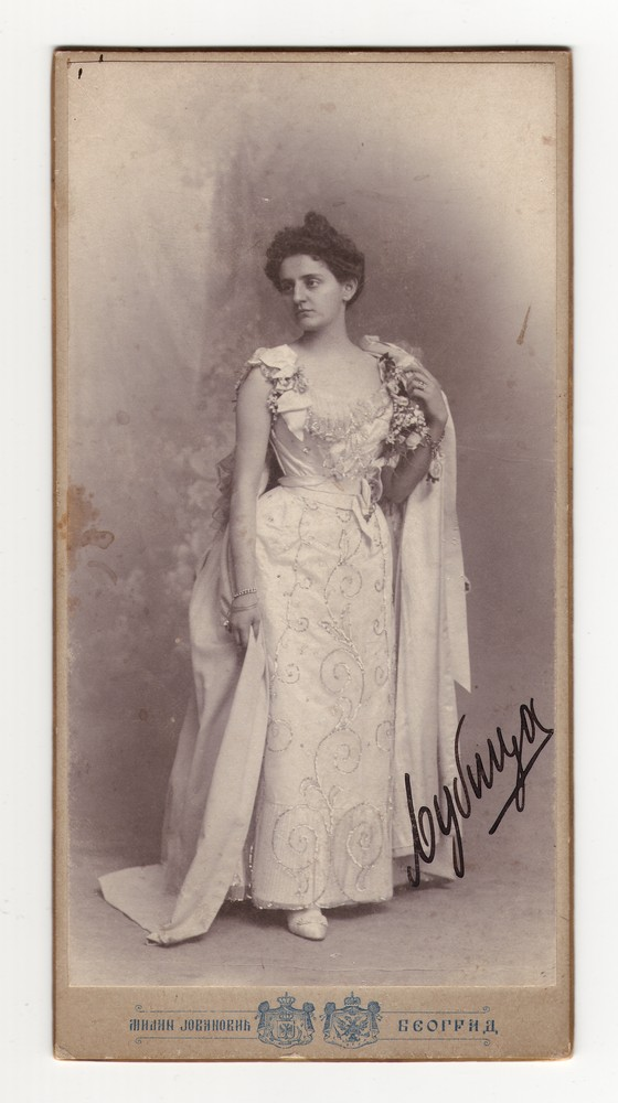 Studio photograph of Ljubica, © Museum of Applied Art