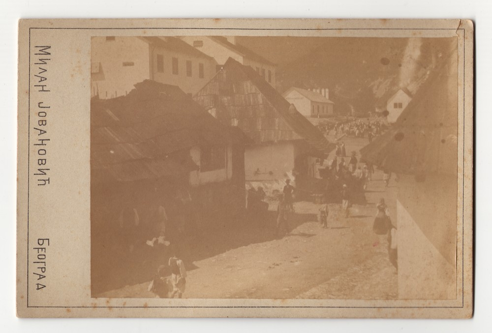 Outdoor photograph of Višegrad, © Museum of Applied Art