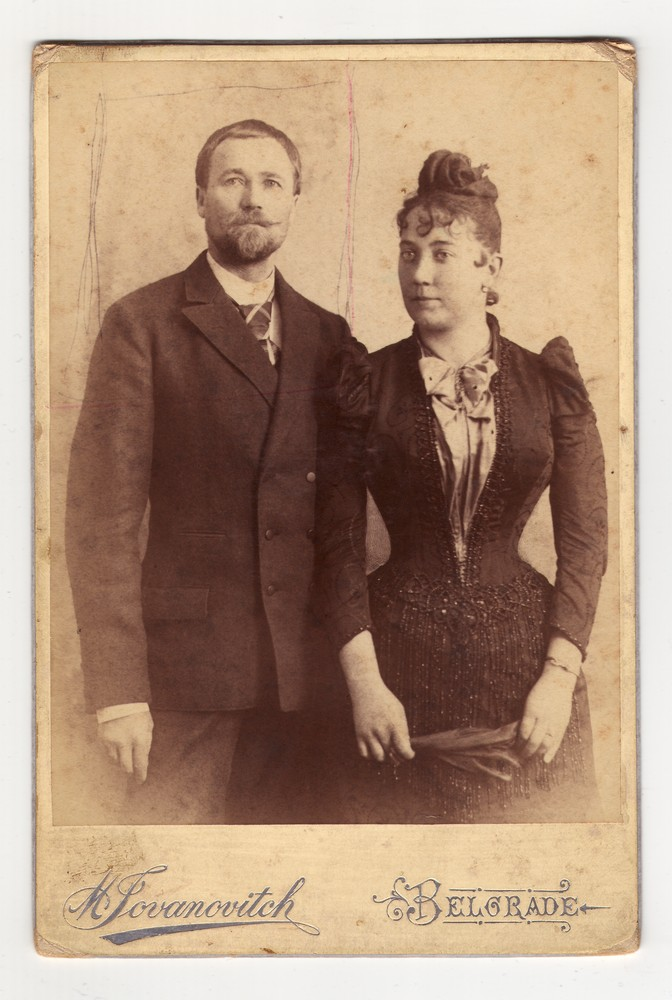 Studio portrait of a couple, © Museum of Applied Art