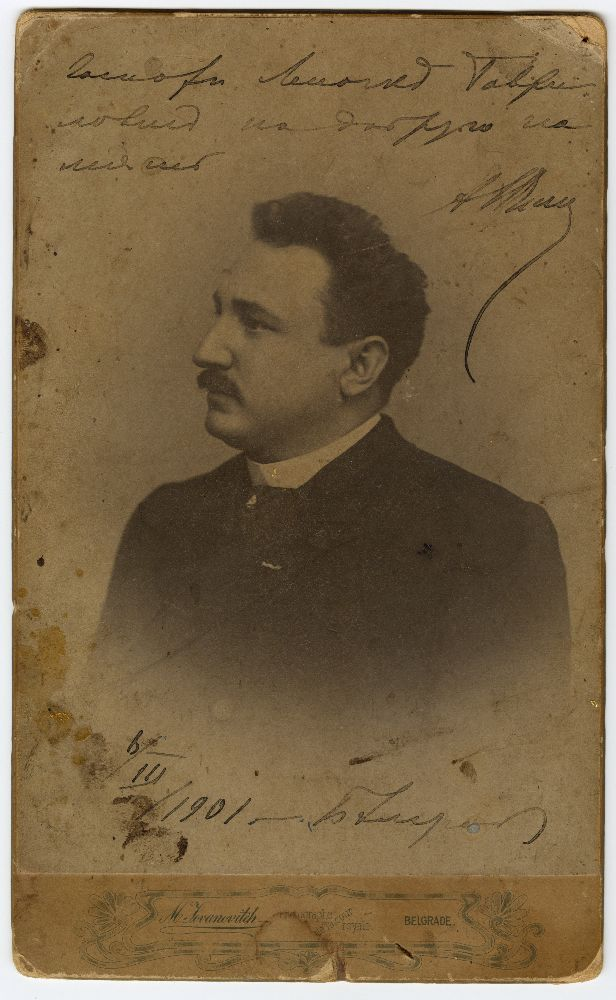 Studio portrait of Aleksandr Sumbatov-Yuzhin, © Museum of Theater Art of Serbia