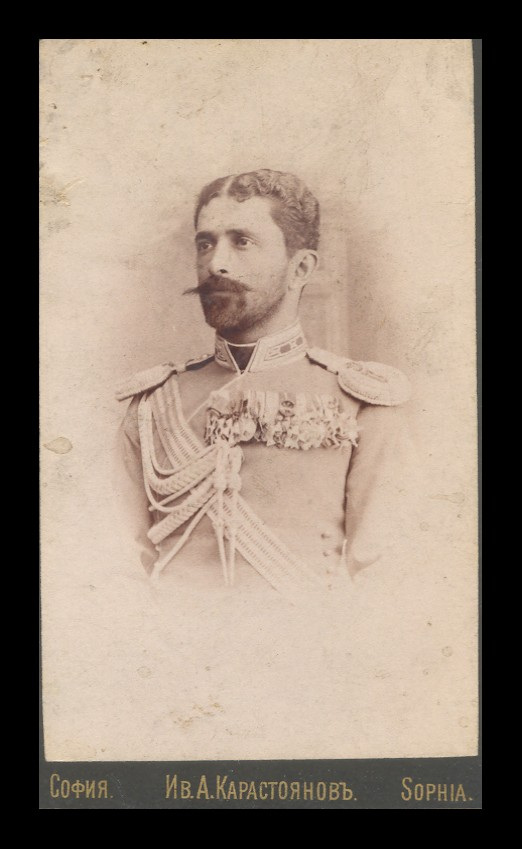 Studio portrait of Todor Uvaliev, © National Museum of Military History Sofia