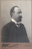 Studio portrait of Kosta Stojanović, © National Library of Serbia