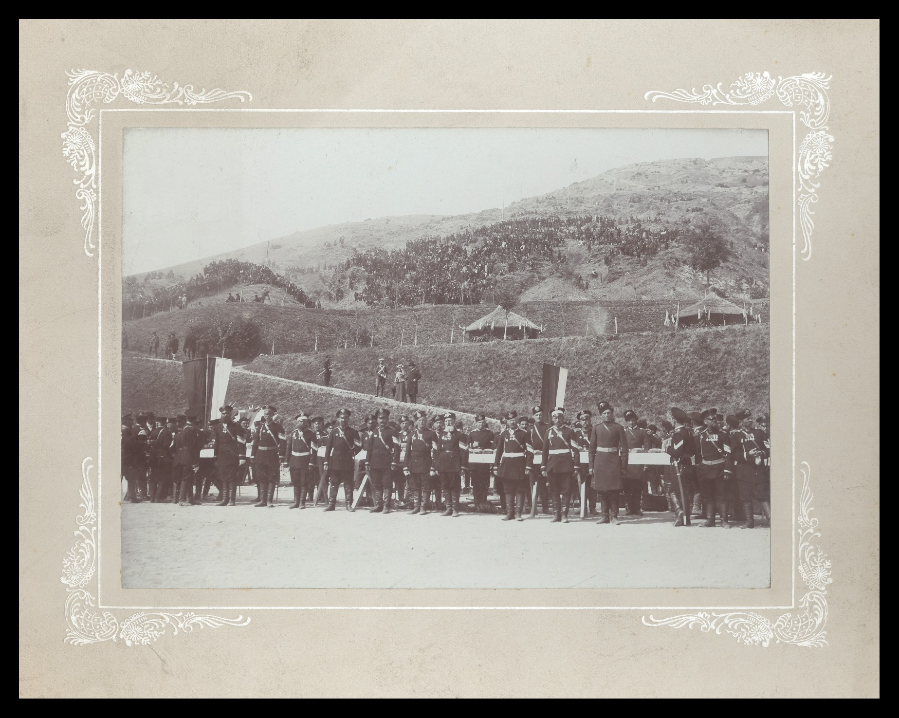 Military ceremony on Shipka peak, © National Museum of Military History Sofia