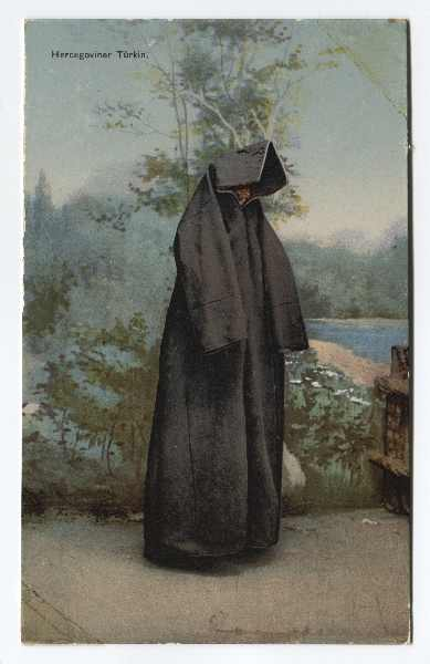 """Herzegovinian Turkish Woman"", © The Historical Archive of Sarajevo"