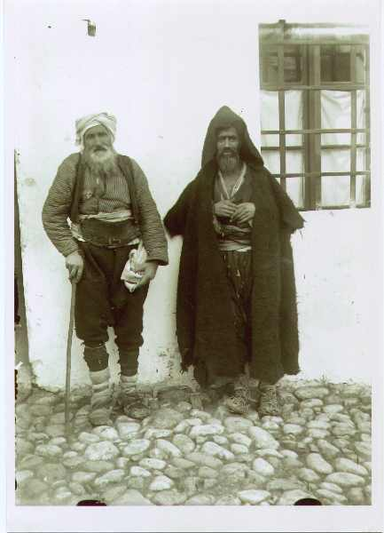 Full-length shot of two men, © The National Museum of Bosnia and Herzegovina