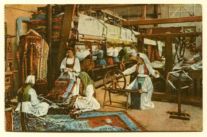 """Sarajevo - Carpet Manufactory"", © Bosniac Institute - Adil Zulfikarpašić Foundation"