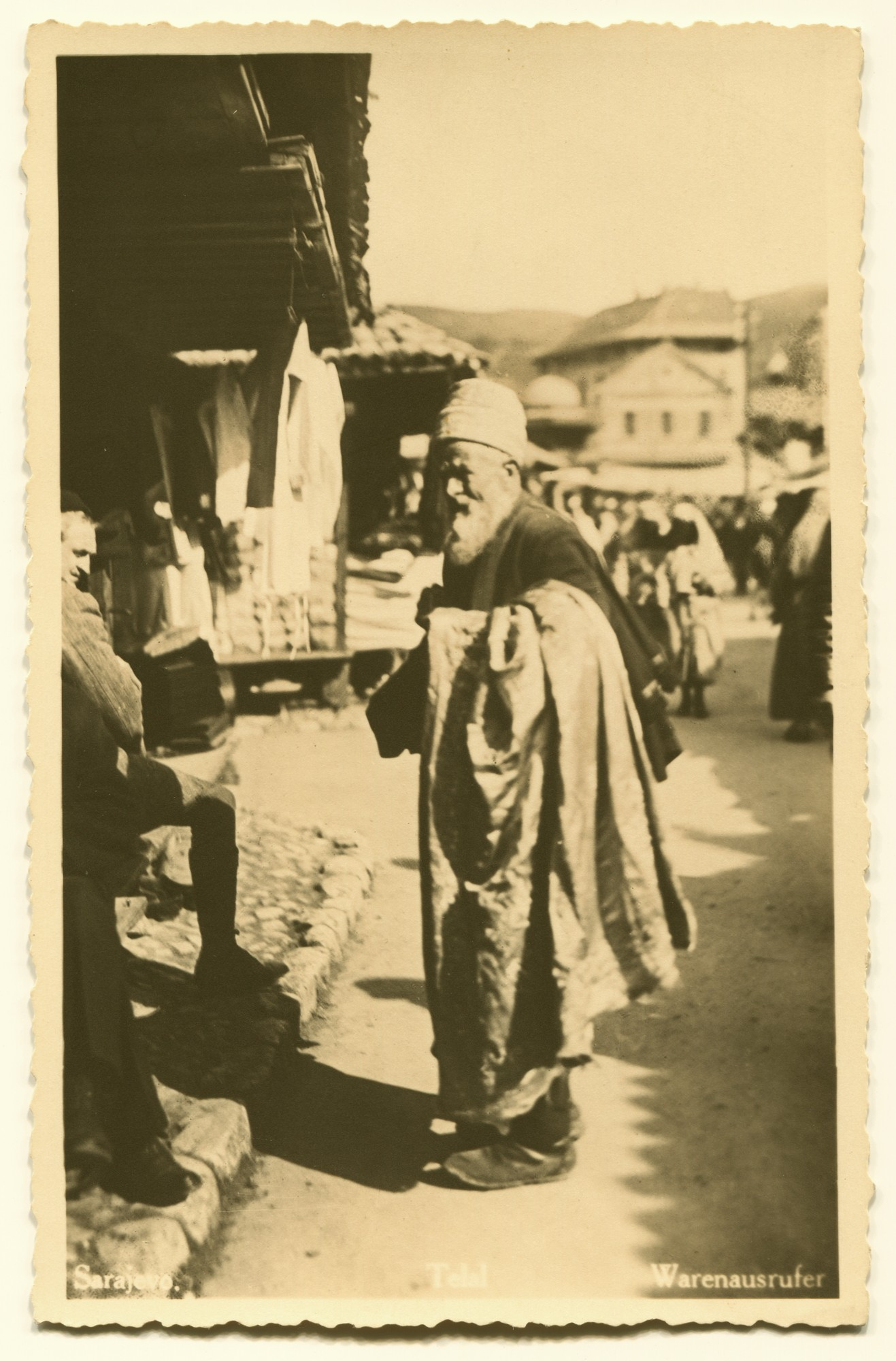 """Sarajevo. Telal. Bell Man At The Market"", © Bosniac Institute - Adil Zulfikarpašić Foundation"