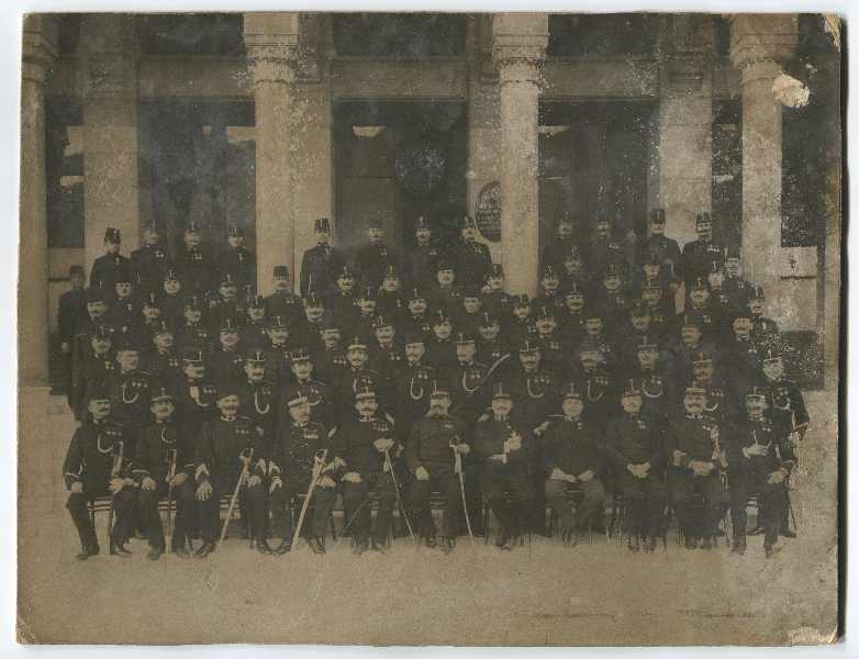 Group portrait of the Sarajevo police garrison, © Museum of City of Sarajevo