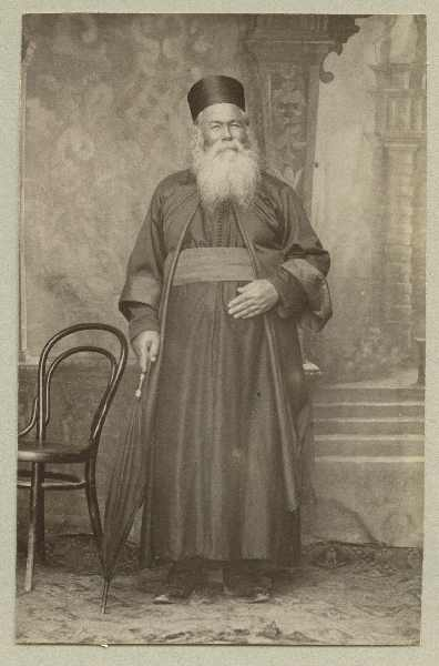 Studio portrait of an Orthodox priest, © The Austrian Museum of Folk Life and Folk Art