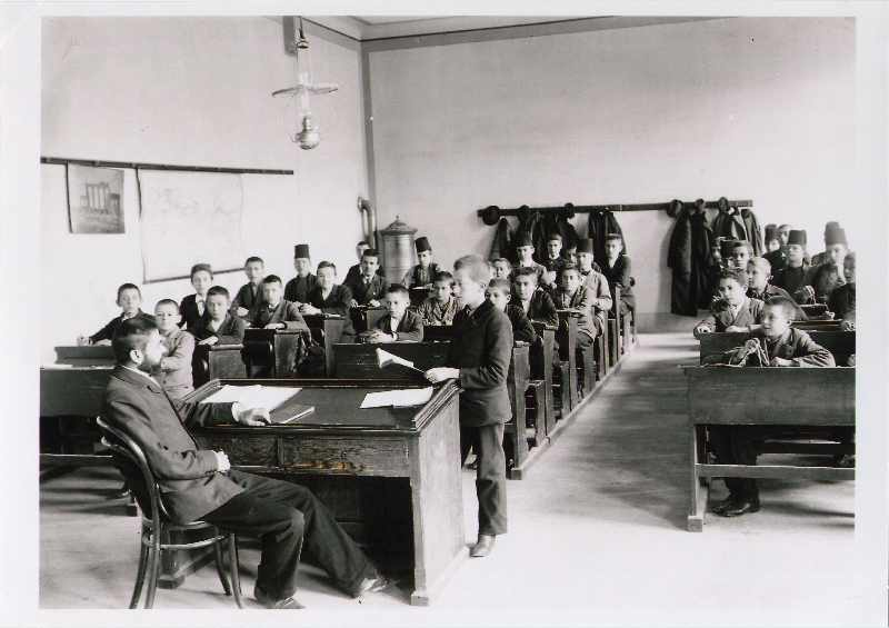 Class at the Boys' High School (Velika gimnazija), © The National Museum of Bosnia and Herzegovina