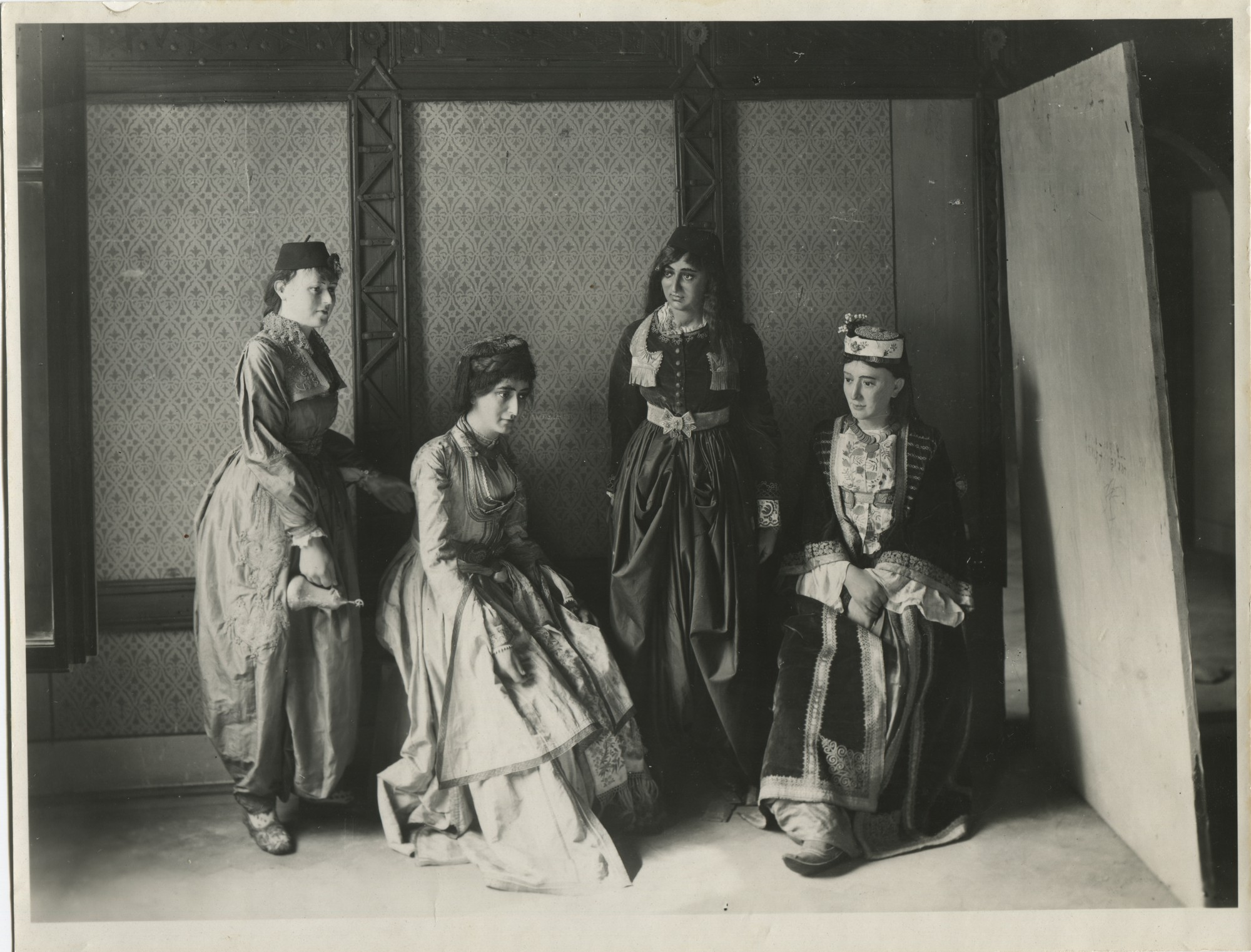 Folk costumes from the collection of the National Museum, © The Historical Archive of Sarajevo