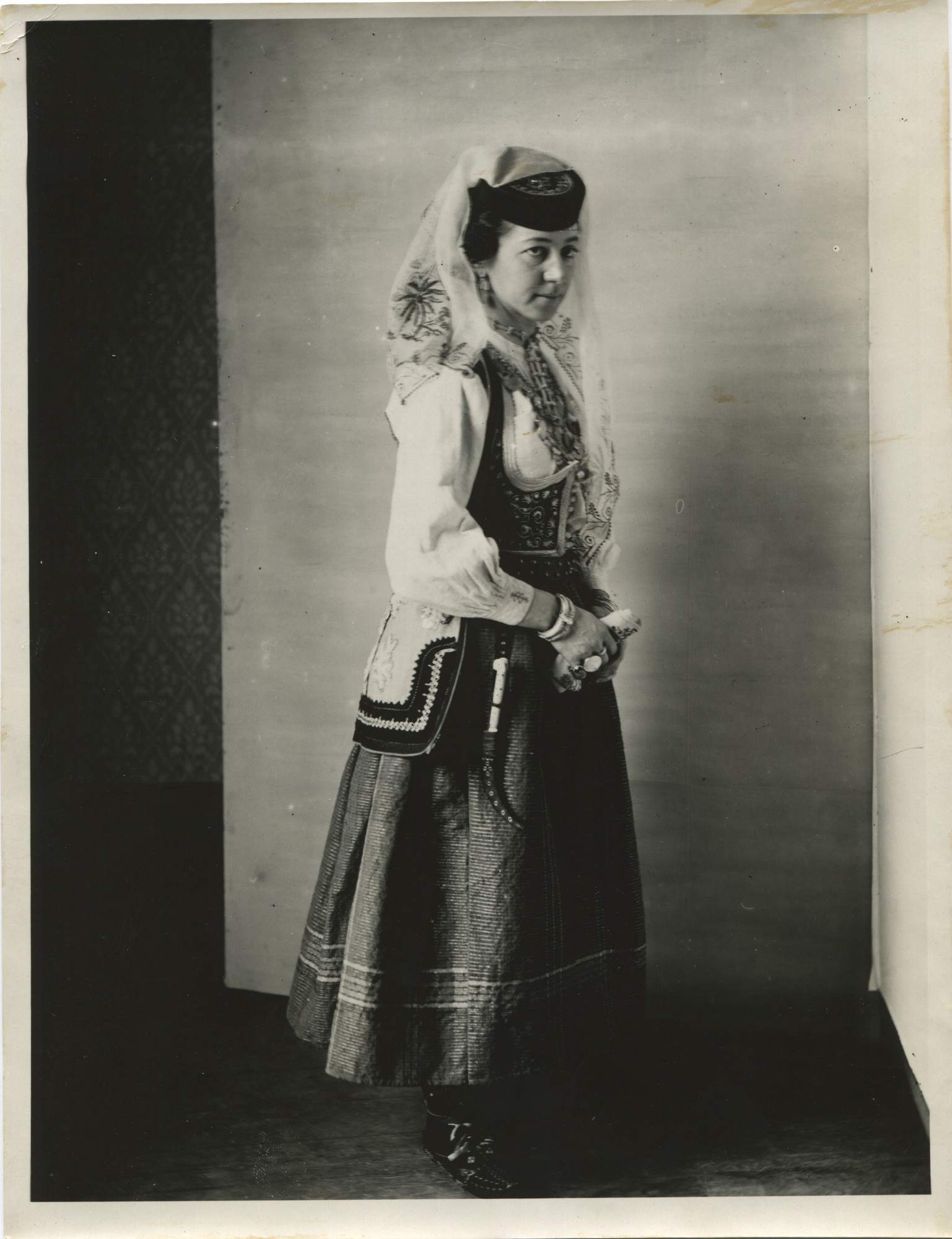 Woman's Herzegovinian dress, © The Historical Archive of Sarajevo