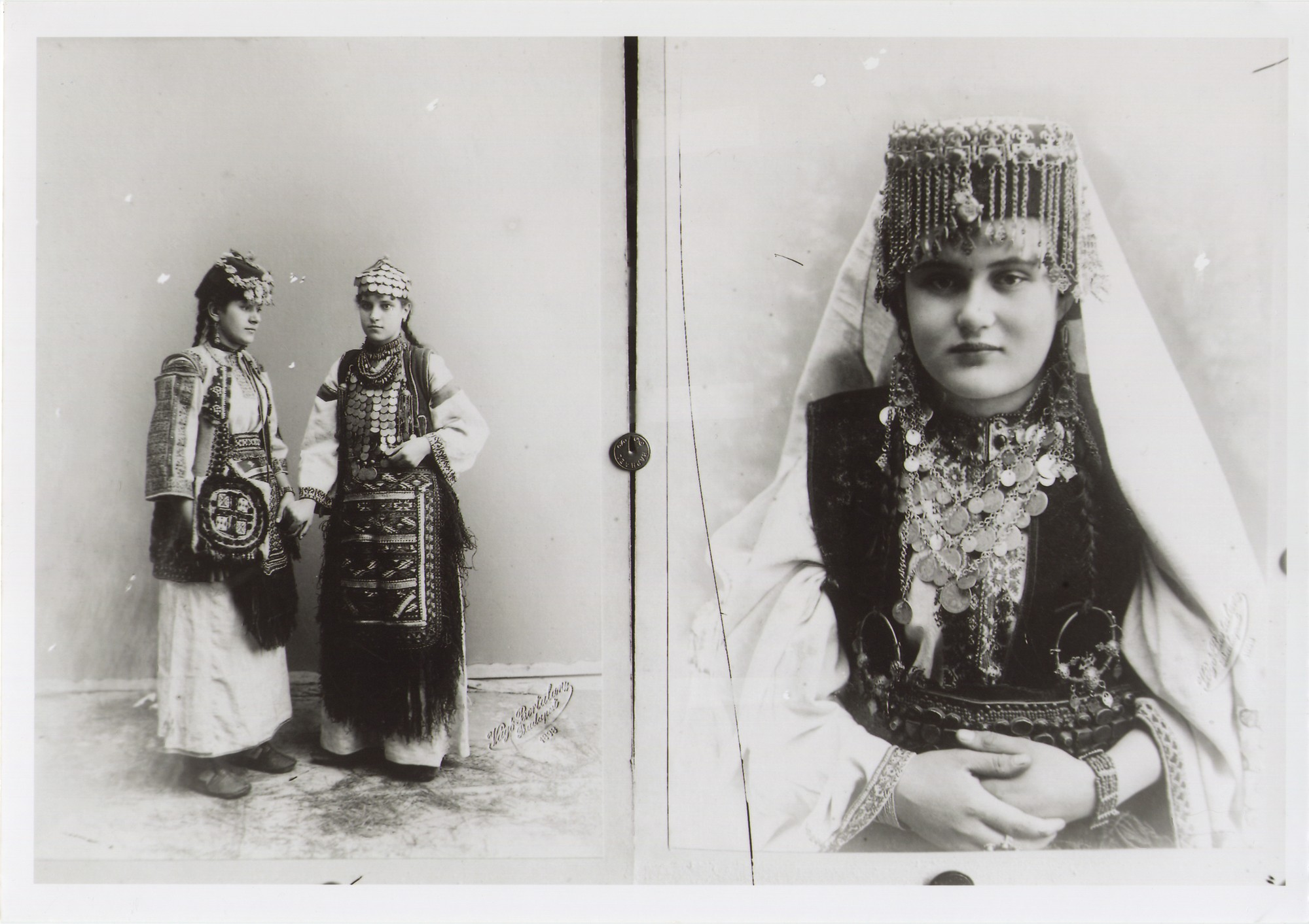 Women in traditional Bosnian Christian costumes from Herzegovina, © The National Museum of Bosnia and Herzegovina