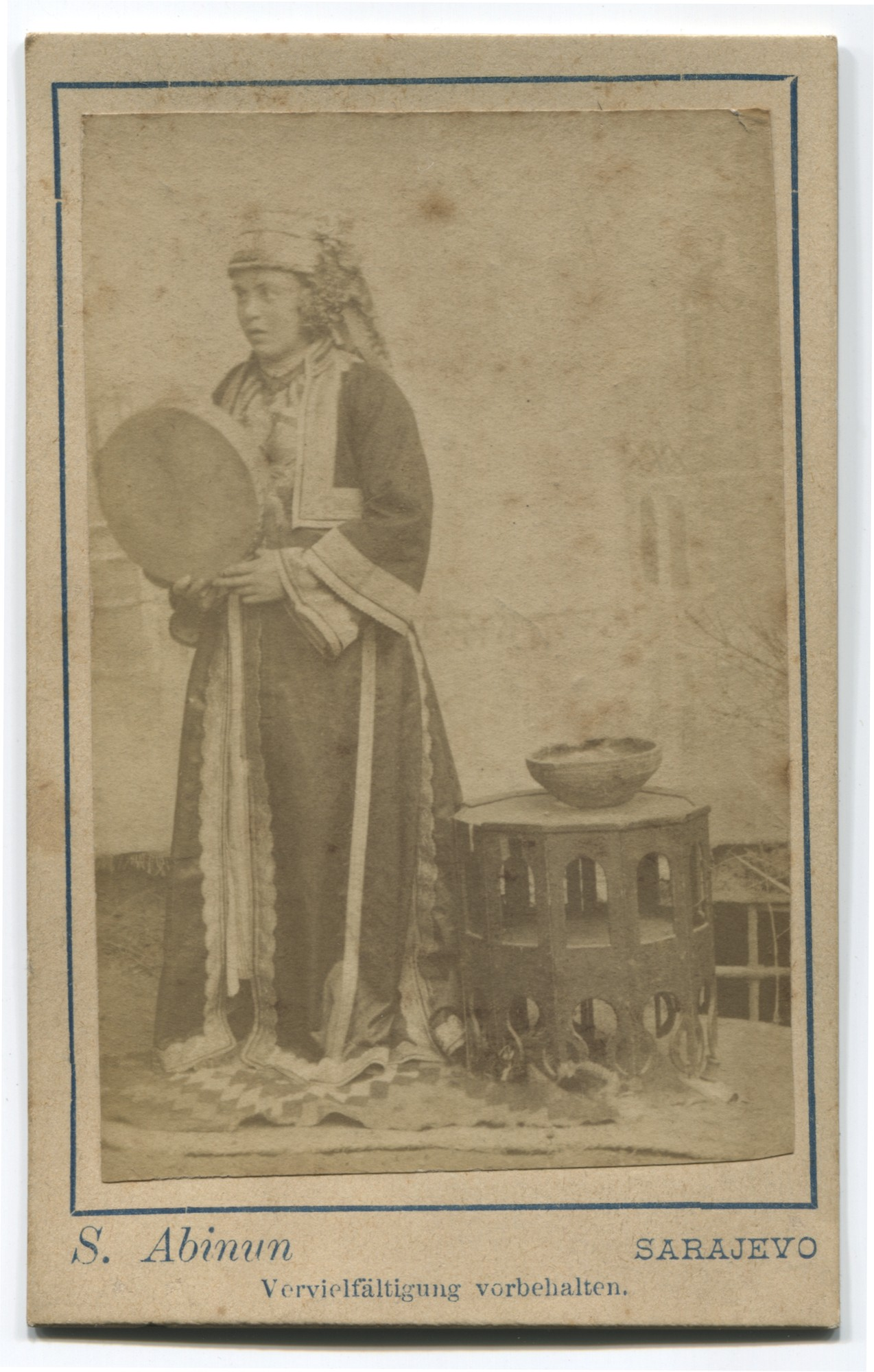 Studio portrait of a townswoman, © Museum of City of Sarajevo
