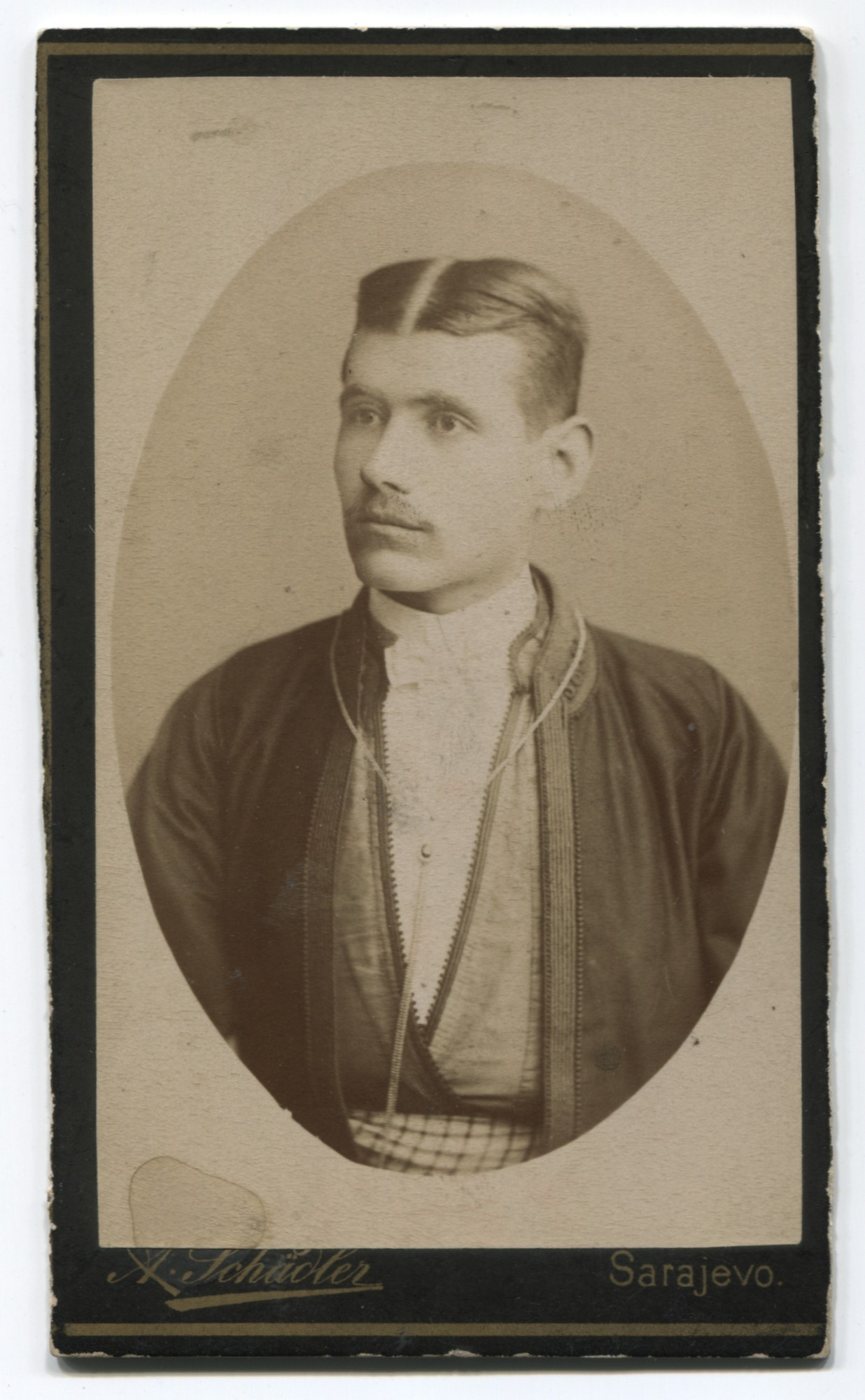 Studio portrait of a townsman, © Museum of City of Sarajevo