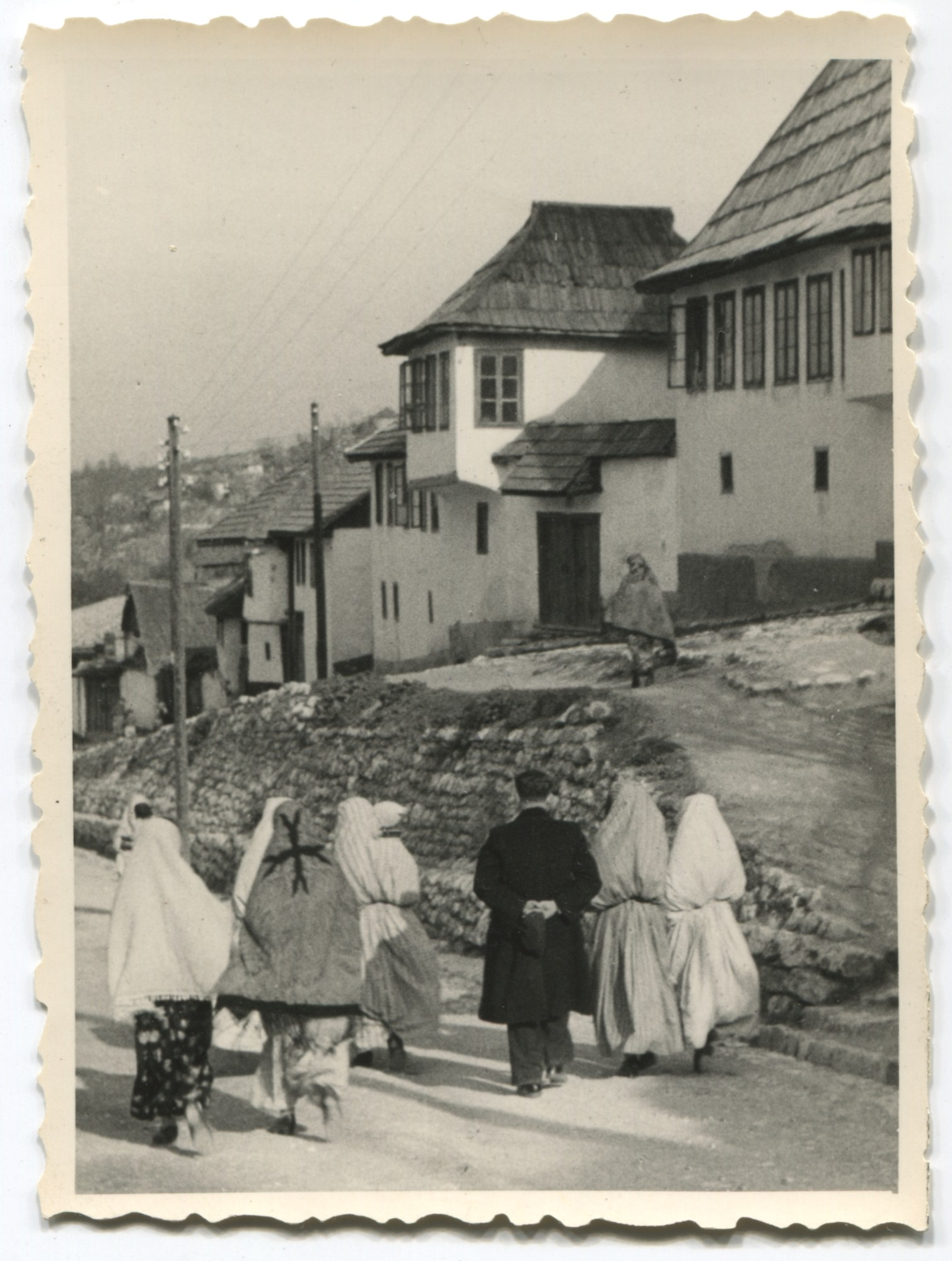 Street scene in a residential quarter, © Museum of City of Sarajevo