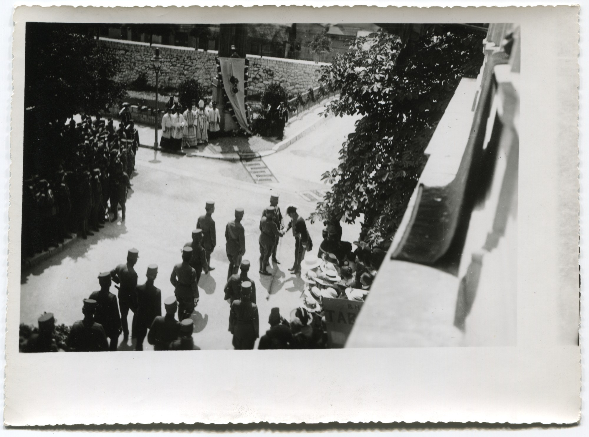 Unveiling of the memorial stone on the occasion of the assassination of Franz Ferdinand and his wife Sophie, © Museum of City of Sarajevo