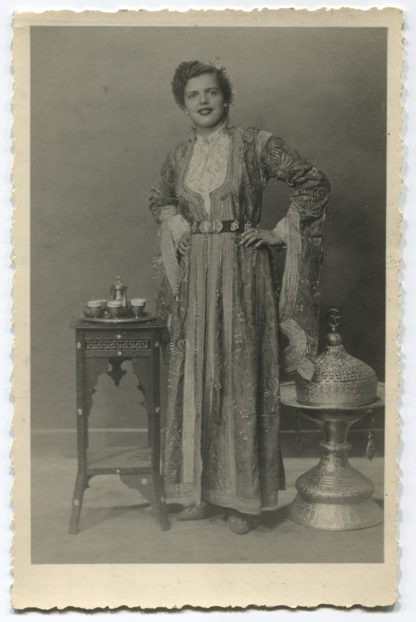 Studio portrait of a woman, © Museum of City of Sarajevo