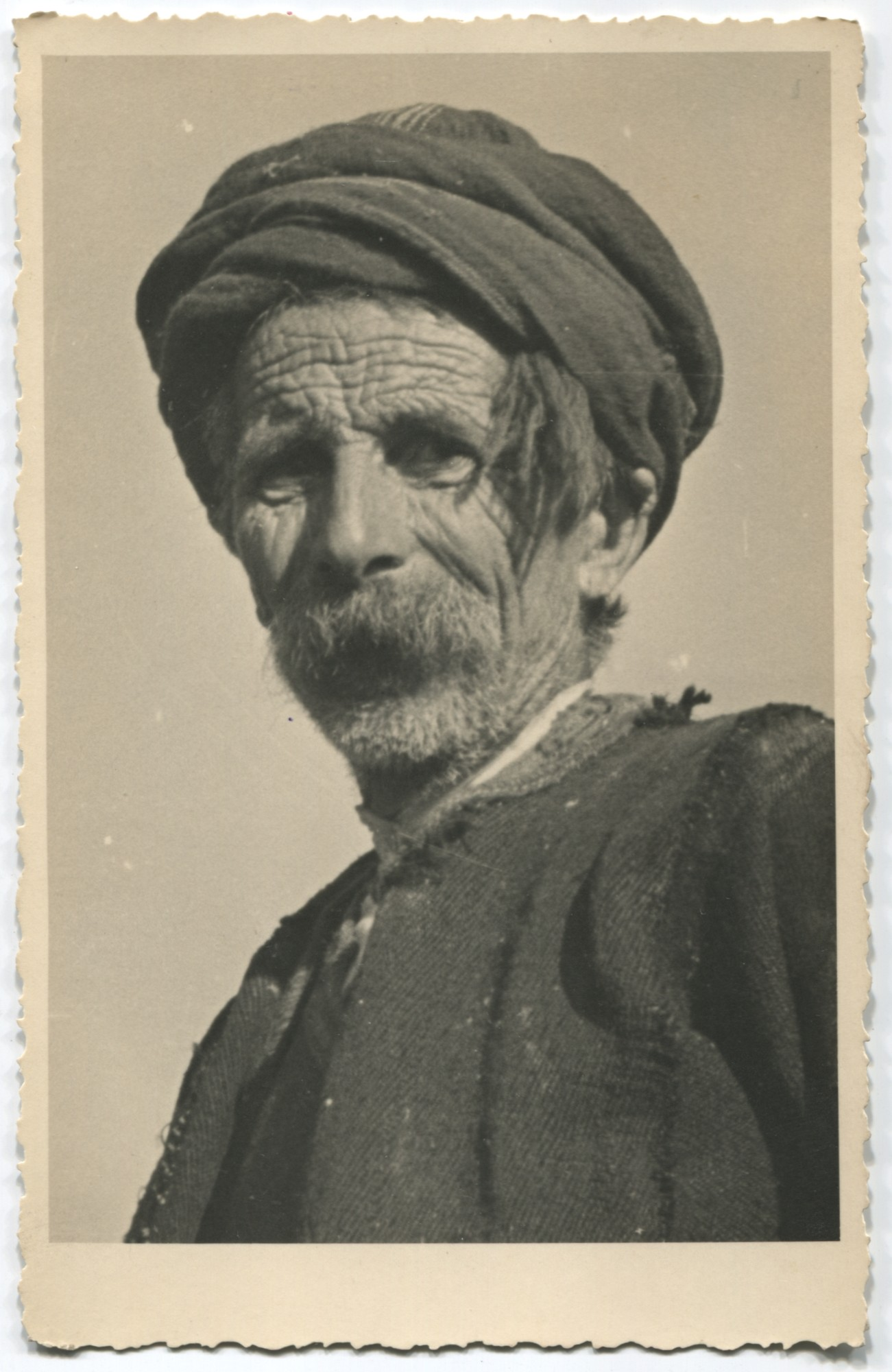 Portrait of an old peasant, © Museum of City of Sarajevo