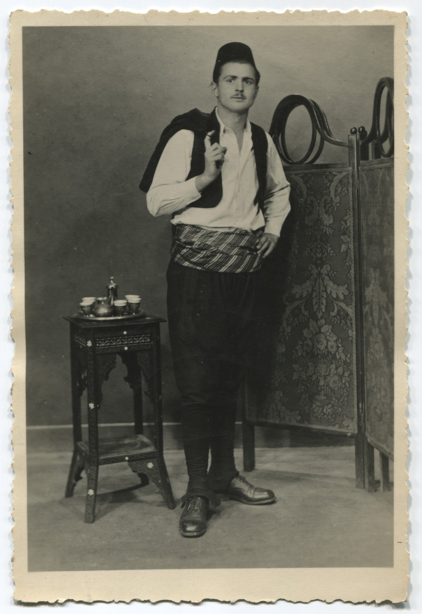 Studio portrait of a man, © Museum of City of Sarajevo