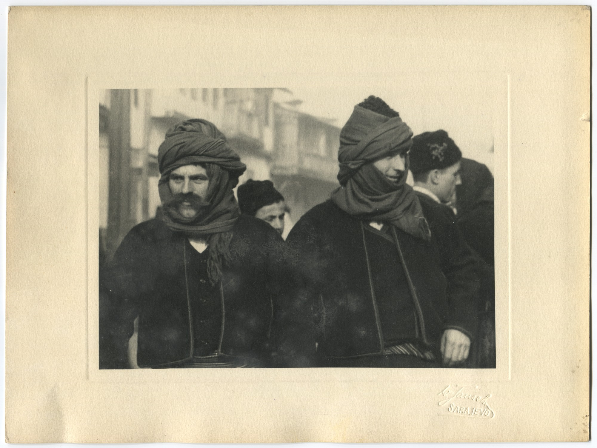 Peasants in traditional clothes, © Museum of City of Sarajevo