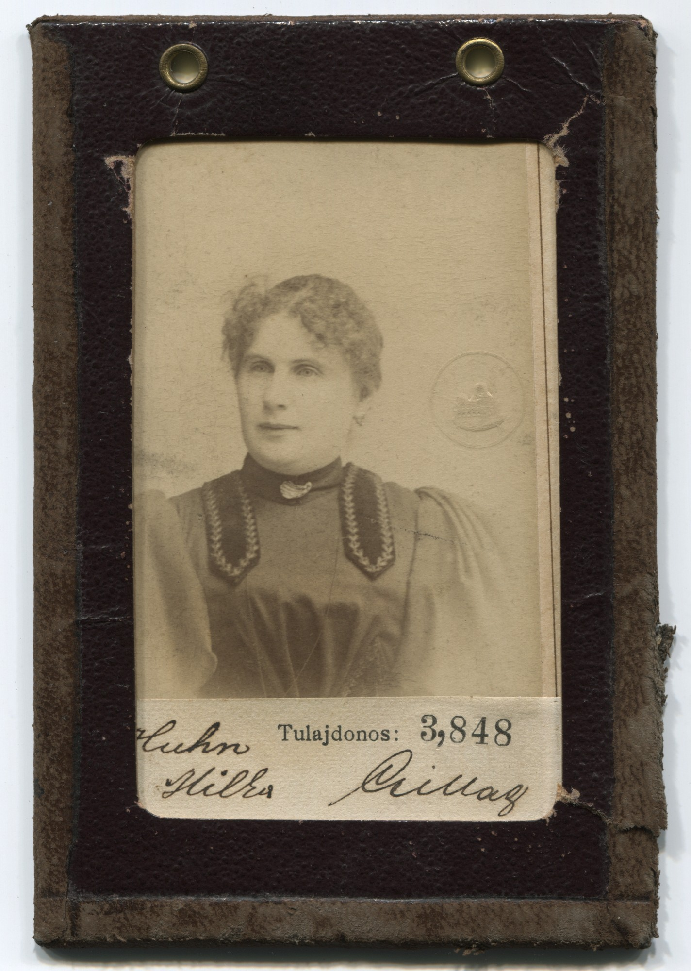 Portrait of Milka Hun, © Museum of City of Sarajevo