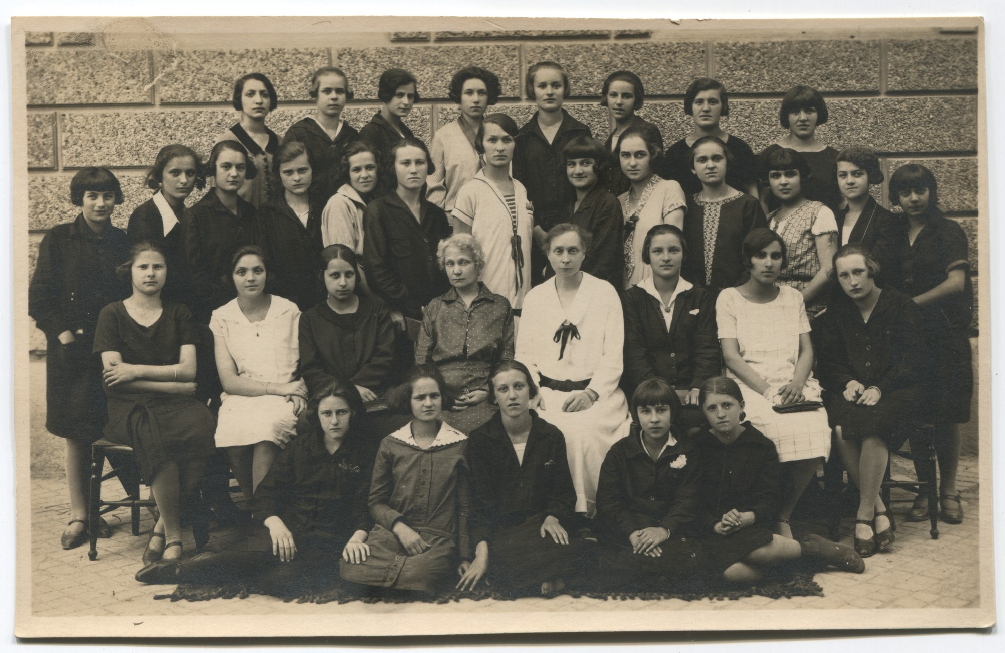 Class photo of course 4a, © Museum of City of Sarajevo