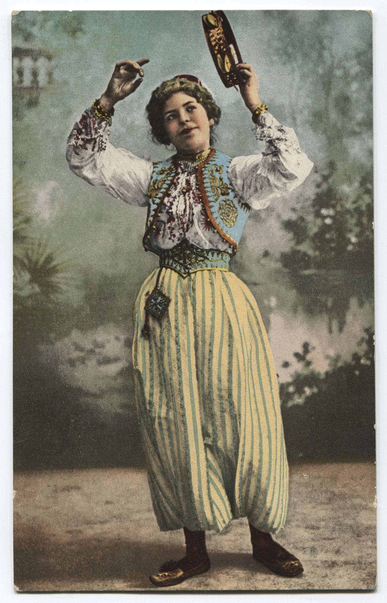 """Greetings From Bosnia. Dancing Girl."", © Museum of City of Sarajevo"
