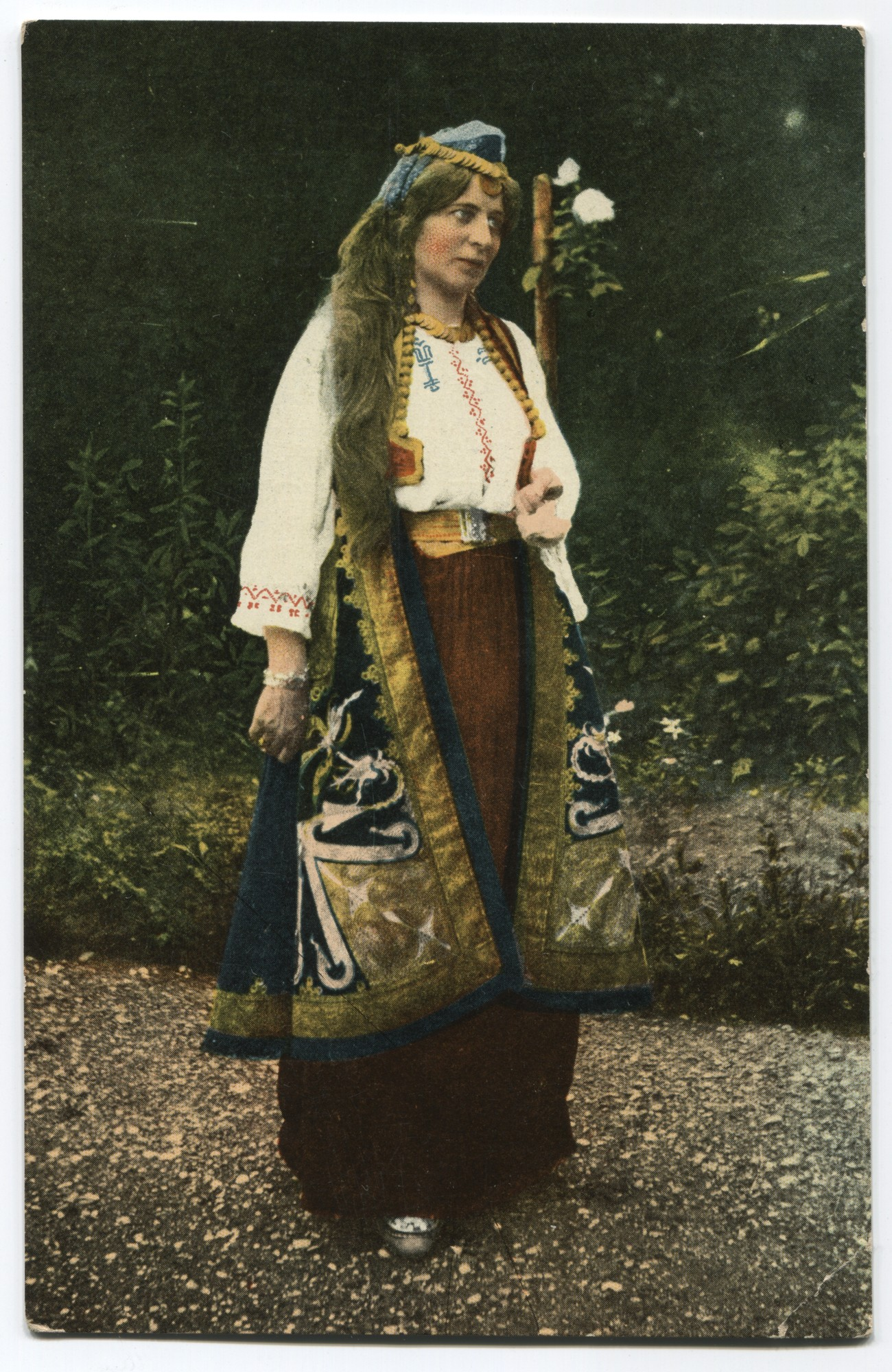 Albanian women's folk costume, © Museum of City of Sarajevo