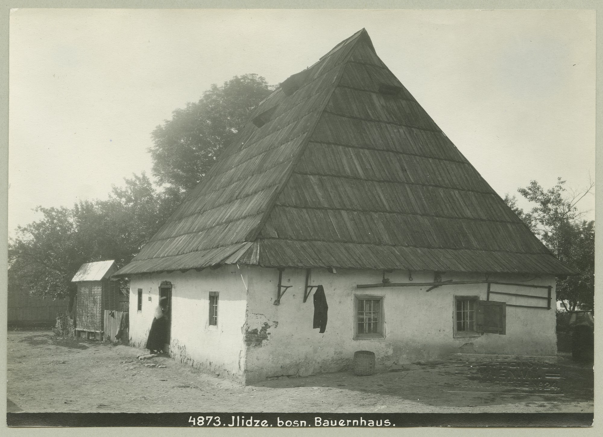Traditional Bosnian farmhouse, © The Austrian Museum of Folk Life and Folk Art