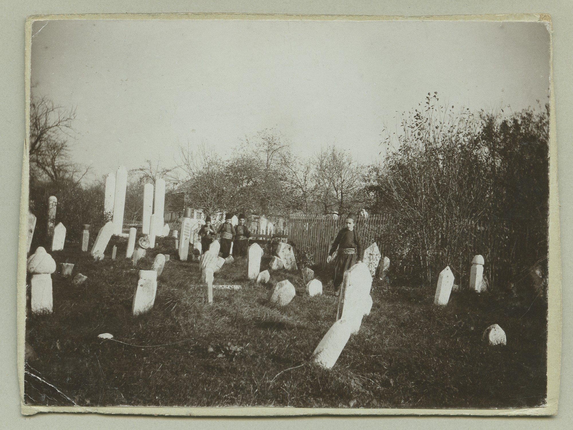Muslim cemetery, © The Austrian Museum of Folk Life and Folk Art