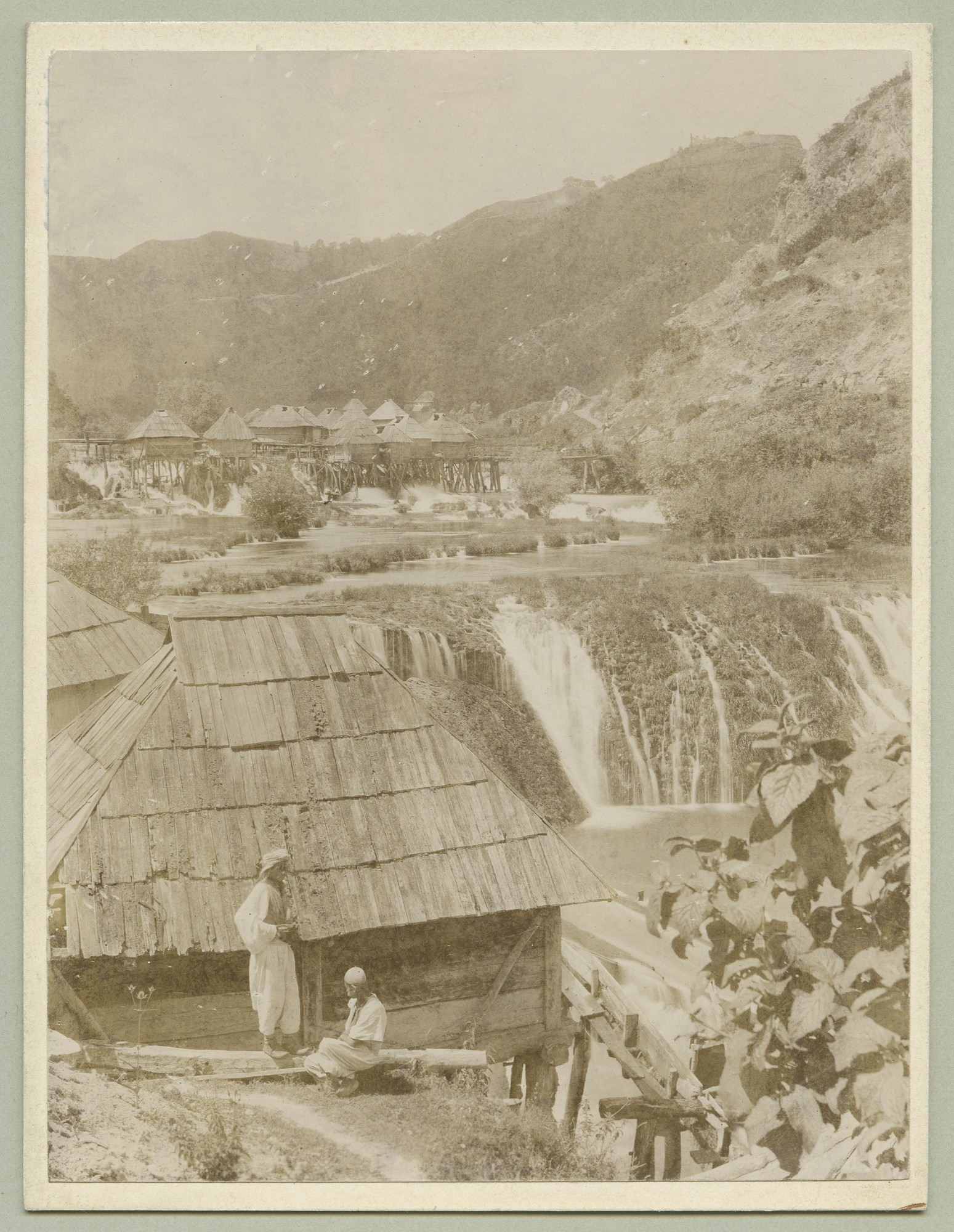 Mills at a waterfall, © The Austrian Museum of Folk Life and Folk Art