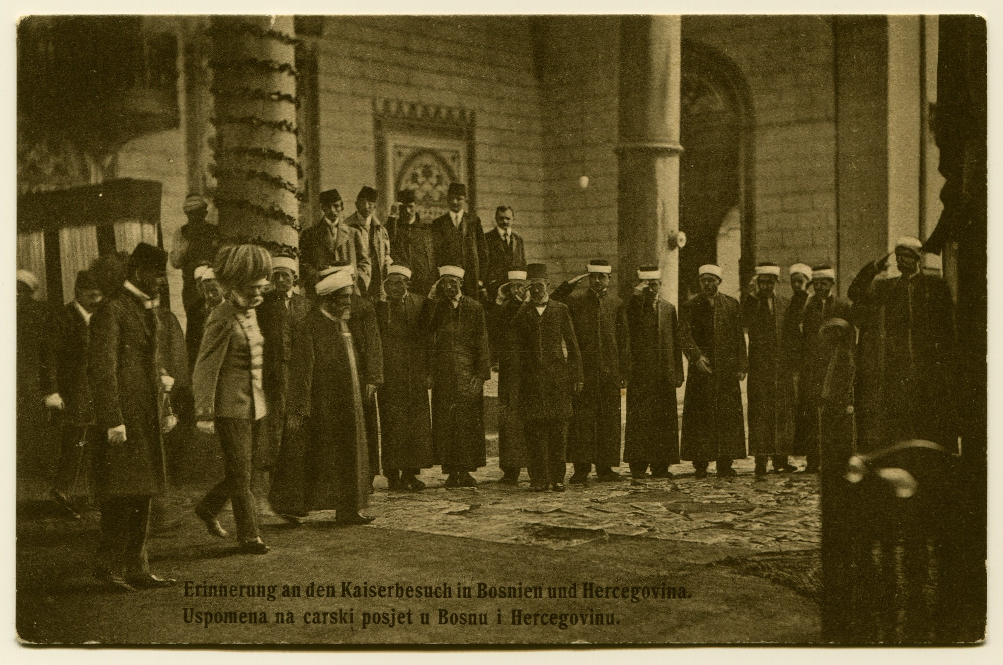 """In Memory Of Emperor Francis Joseph I Visiting Bosnia And Herzegovina"", © Bosniac Institute - Adil Zulfikarpašić Foundation"
