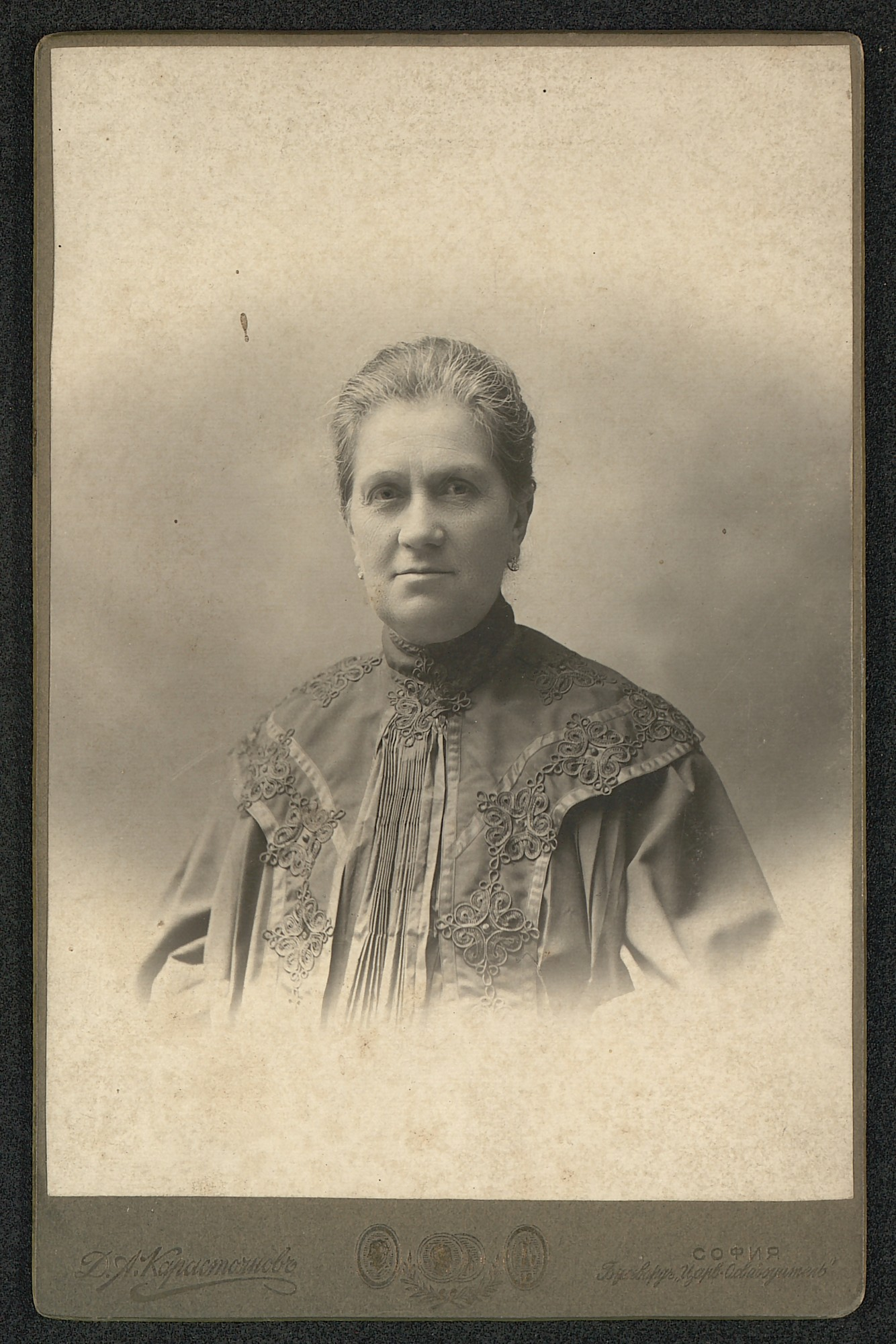 Studio portrait of Elisaveta Stanchova, © St. Cyril and St. Methodius National Library