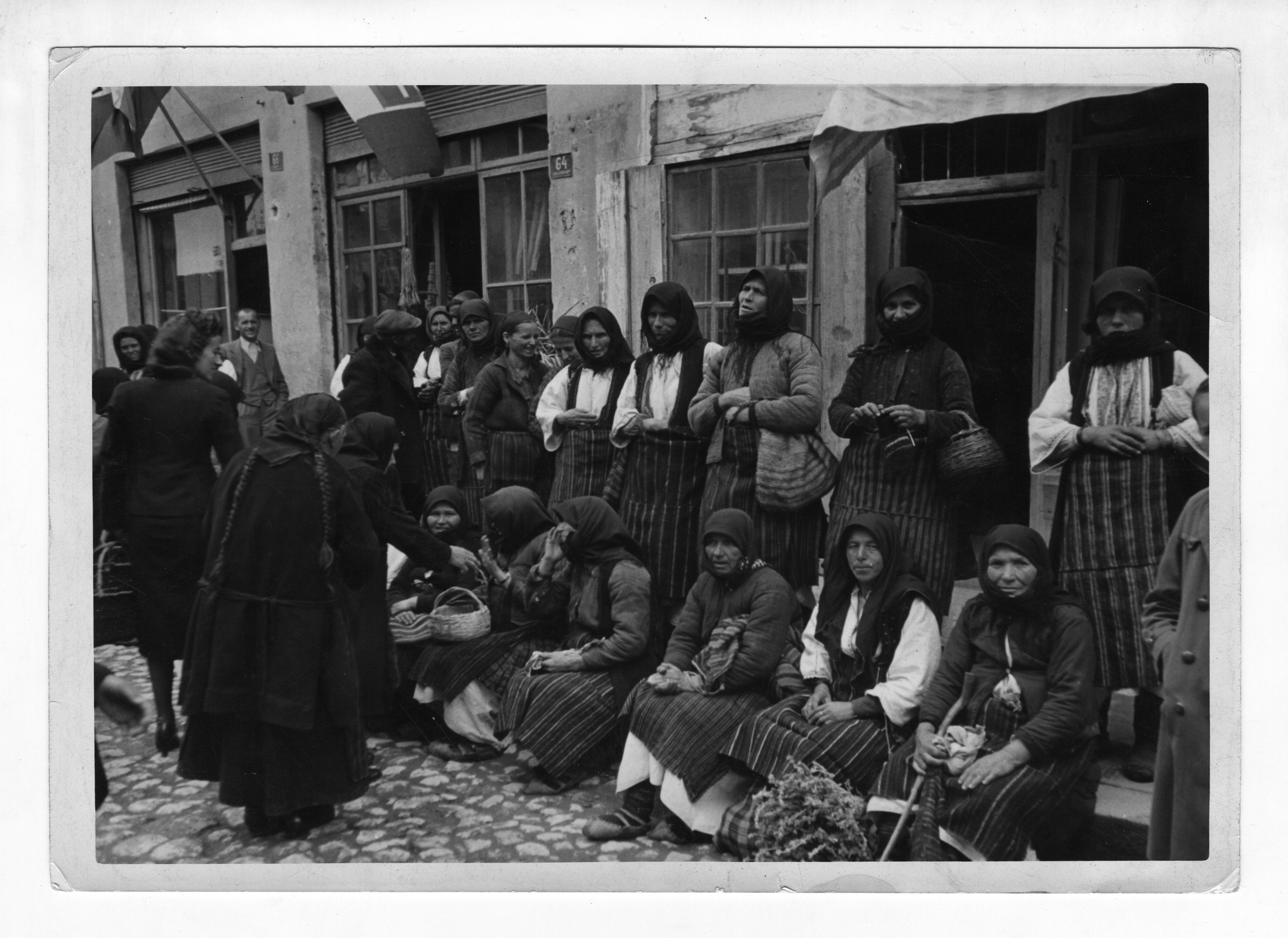 Open street market, © Institute for Ethnology and Folklore Studies with Ethnographic Museum - AEIM, BAS