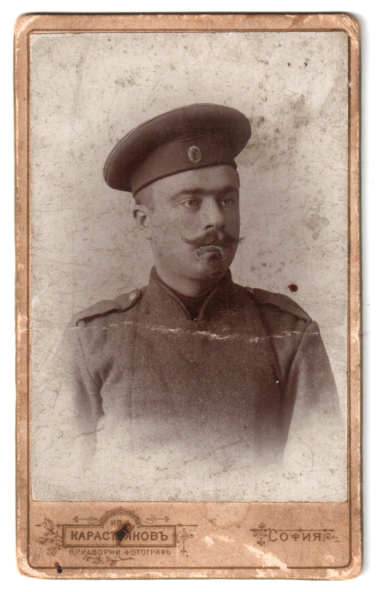 Studio portrait of Popov as a soldier, © National Polytechnic Museum