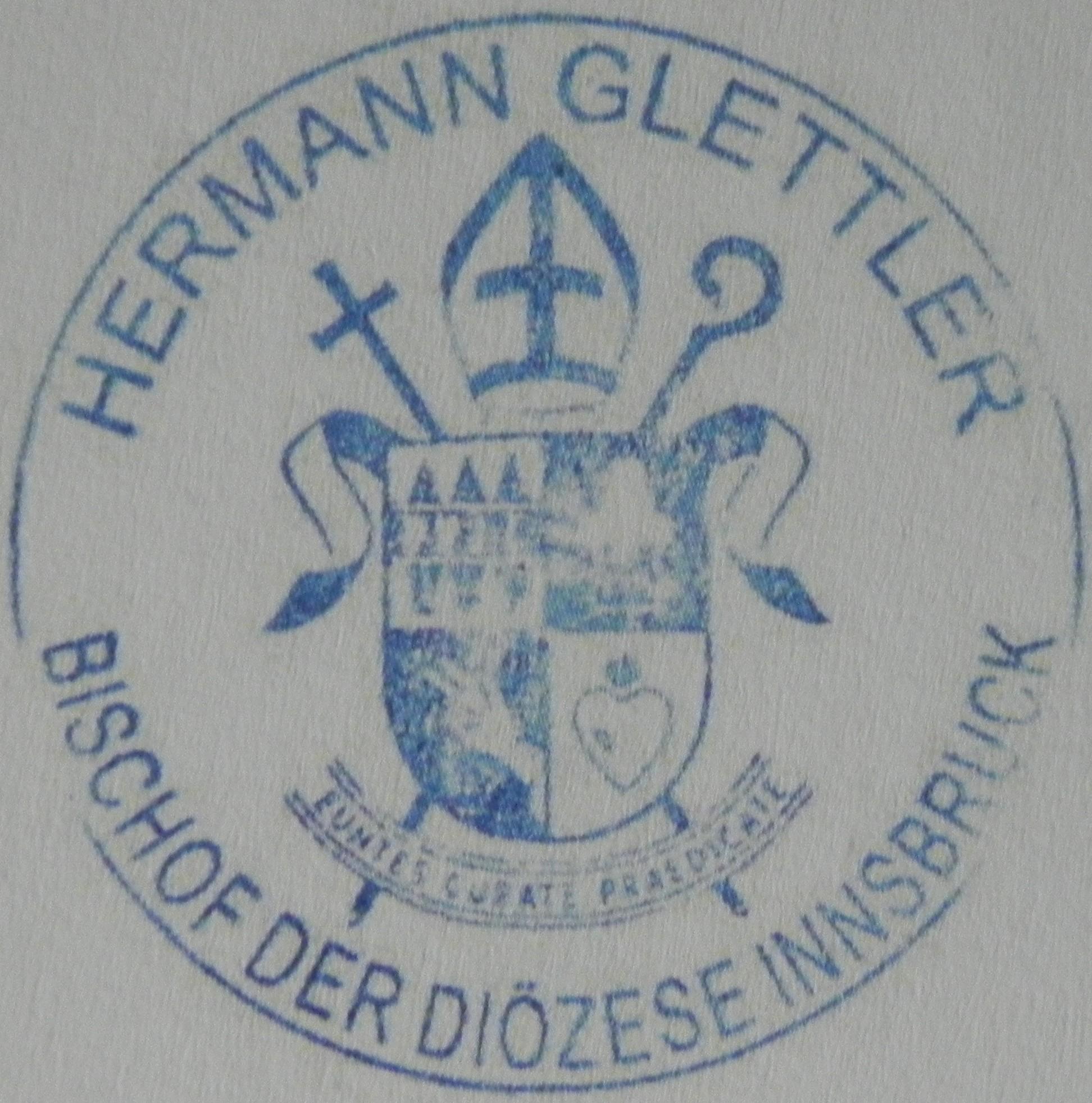 Bischof Hermann, Innsbruck