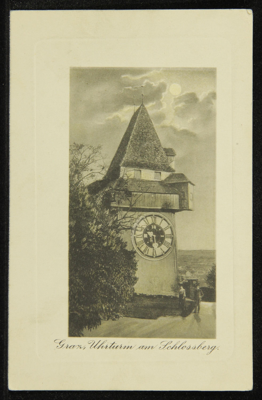 Graz, Uhrturm am Schlossberg.