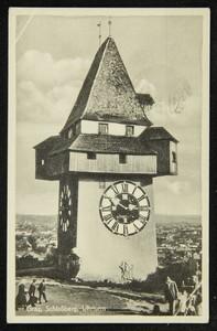 Graz, Schloßberg, Uhrturm