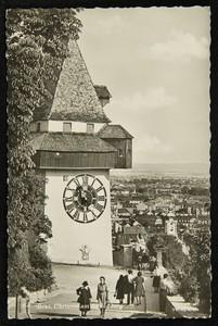 Graz, Uhrturm am Schloßberg