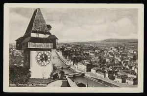 Graz. Uhrturm am Schloßberg