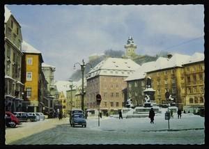 Graz, Steiermark. Hauptplatz