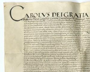 Die päpstliche Bestätigung der Karl-Franzens-Universität Graz von Sixtus V.