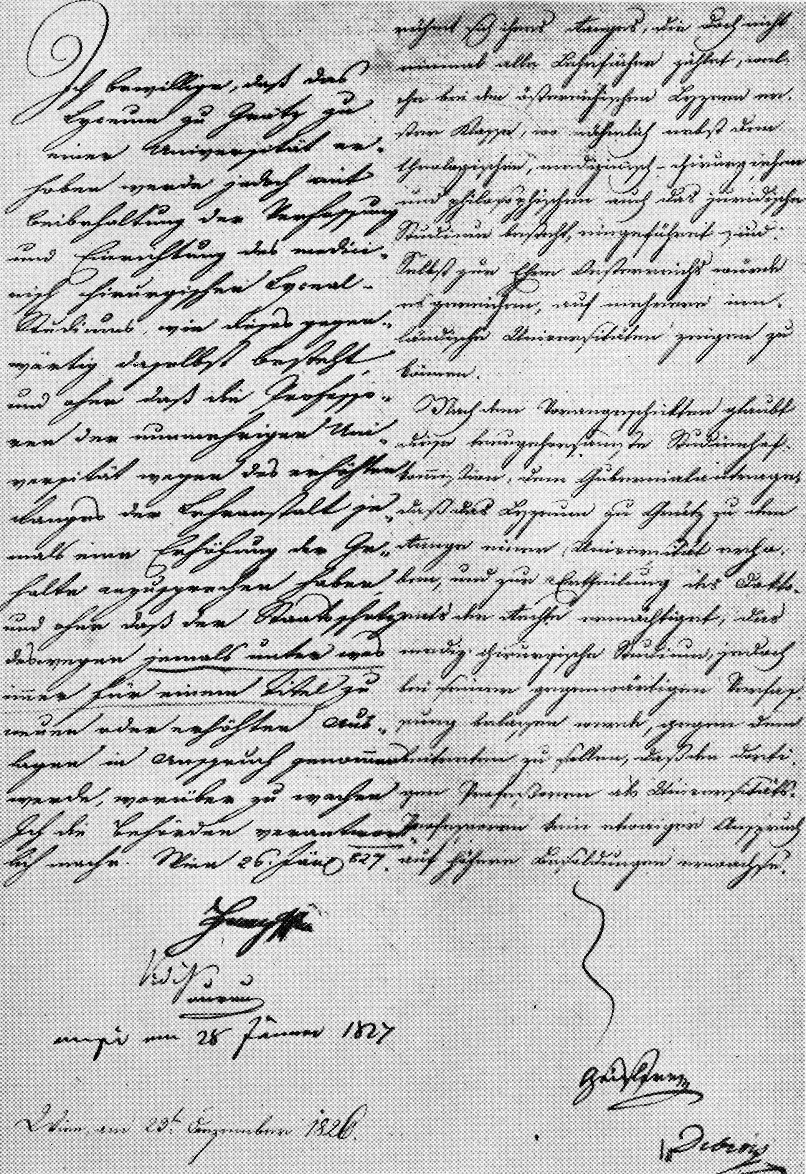 Wiedererhebung zur Universität: Allerhöchste Entschließung von Franz II./I.