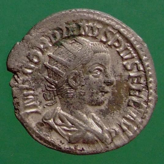 Gordianus III. (238-244); Rom; 240; Antoninian; RIC 87 von Gordianus III.