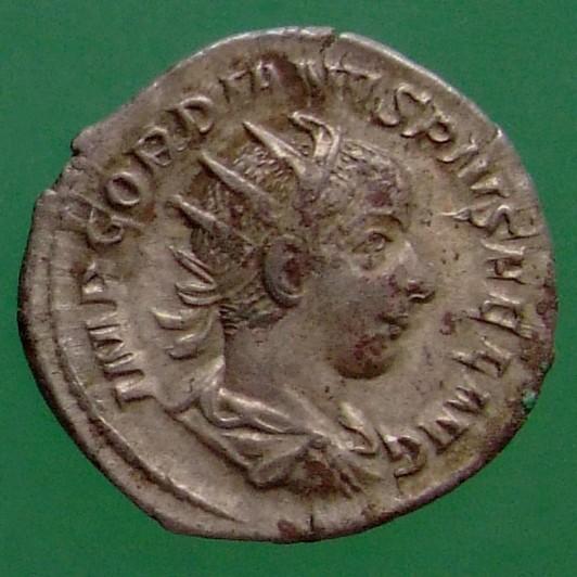 Gordianus III. (238-244); Rom; 242; Antoninian; RIC 89 von Gordianus III.