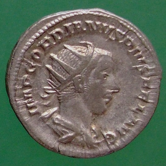 Gordianus III. (238-244); Rom; 242; Antoninian; RIC 93 von Gordianus III.